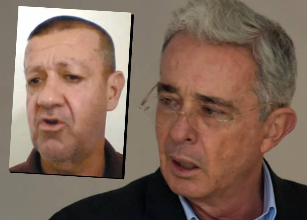 'Tuso' Sierra y Álvaro Uribe