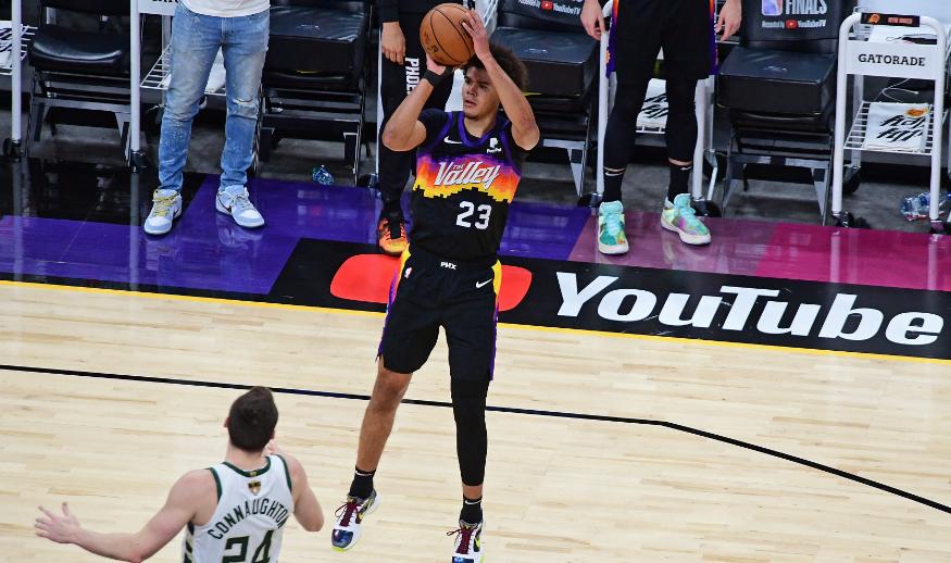 Los Suns ganaron el primer juego de la final de la NBA frente a los Bucks.