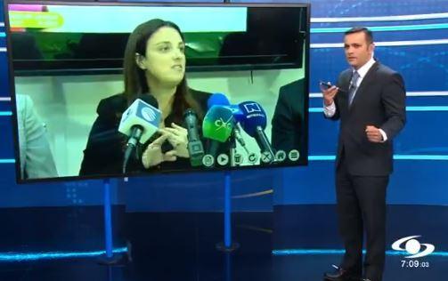 Juan Diego Alvira llamó en vivo a la ministra de las TIC, Karen Abudinen, y no le contestó