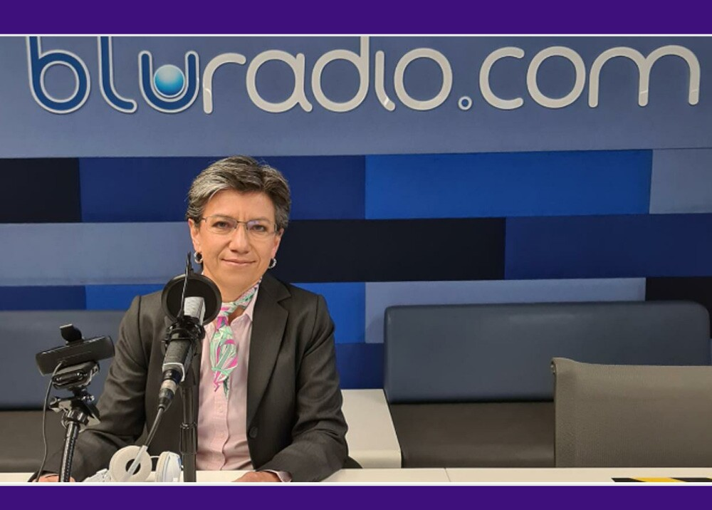 370850_Claudia López - Foto: BLU Radio