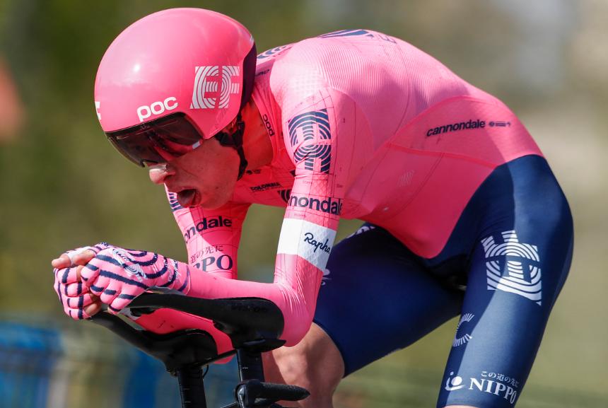 Rigoberto Urán espera brillar en la etapa 5 del Tour de Francia.