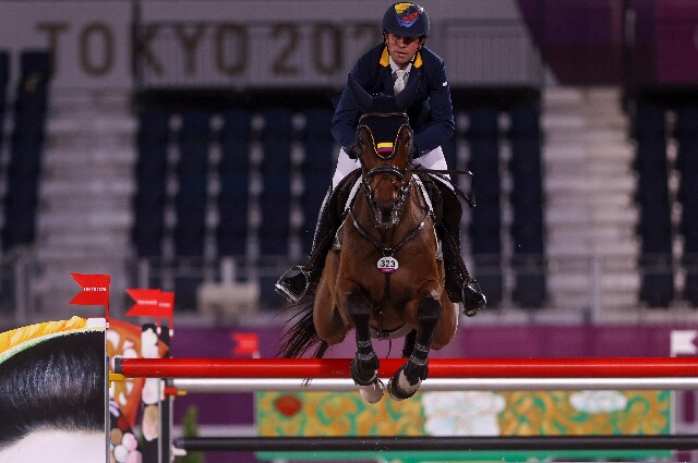 Roberto Terán, en los Juegos Olímpicos de Tokio 2020