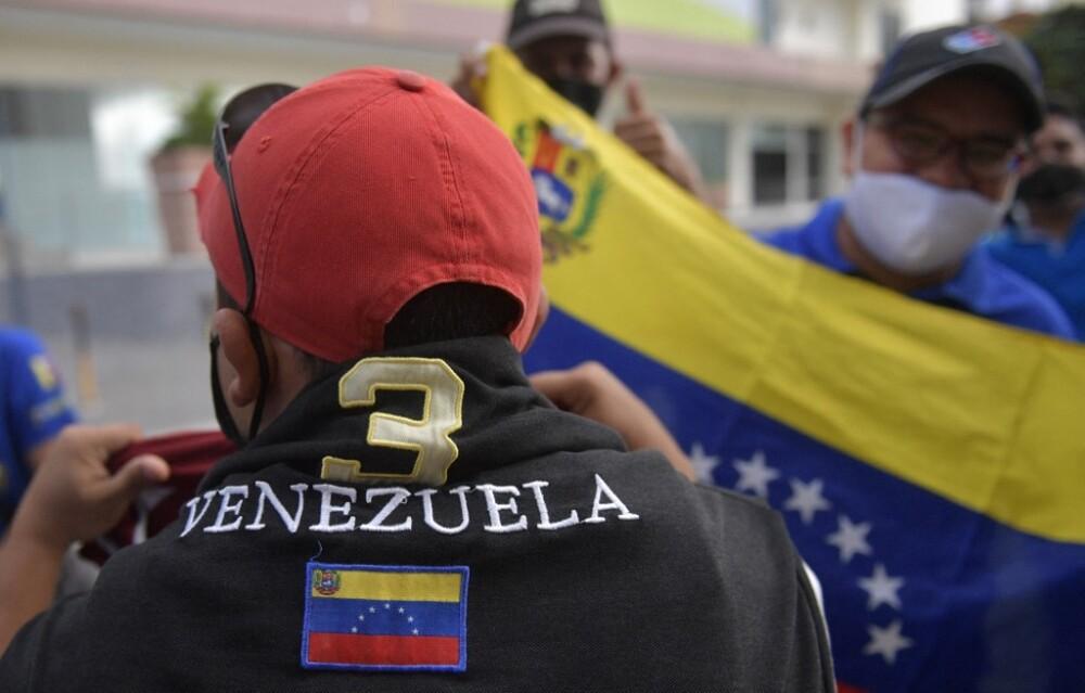 Venezolanos en Colombia. Foto AFP