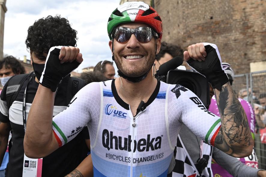 Giacomo Nizzolo fue el ganador de la etapa 13 del Giro de Italia.