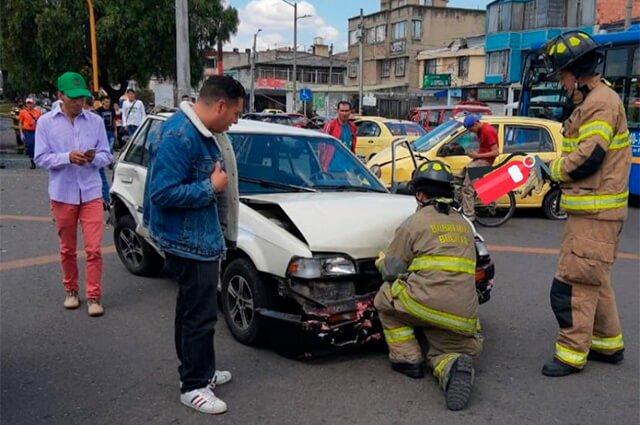 Foto: Bomberos de Bogotá