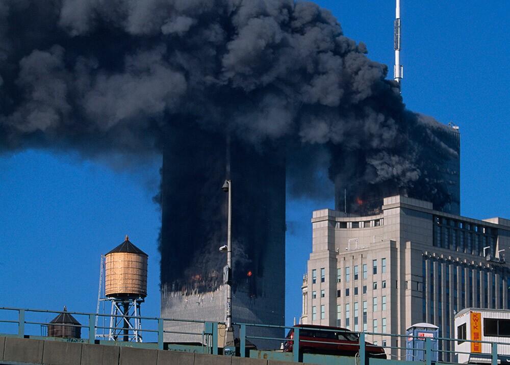 315132_Blu Radio. Atentado terrorista en Torres Gemelas. Foto: AFP