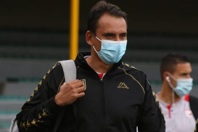 Grigori Méndez, director técnico de Independiente Santa Fe
