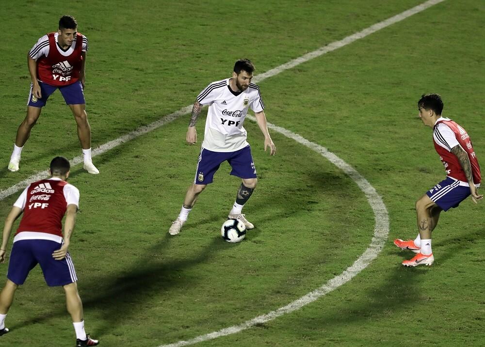 336414_Blu Radio // Selección argentina // Foto: AFP