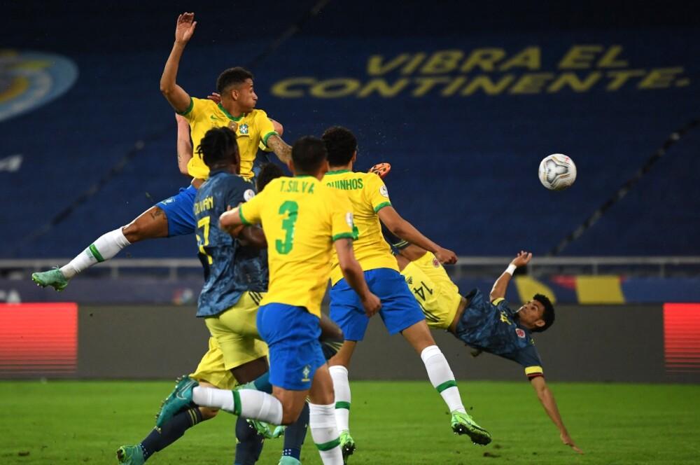 Colombia vs Brasil