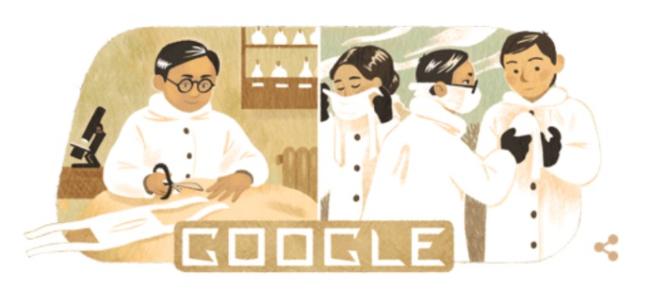 Doodle del epidemiólogo Wu Lien-teh