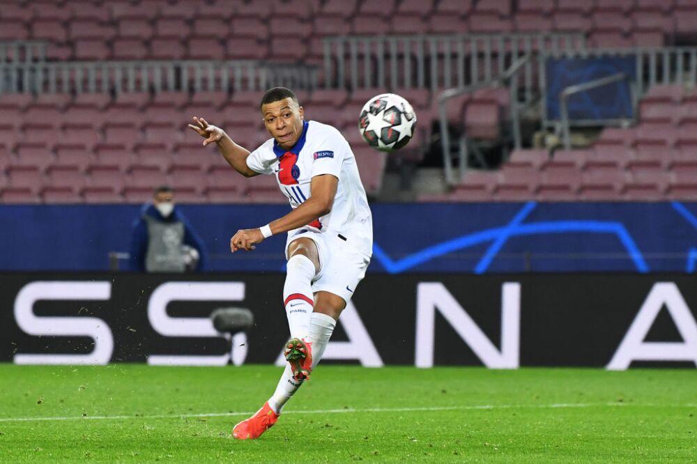 Tercer gol Mbappé