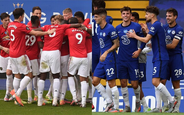 Chelsea y Manchester United