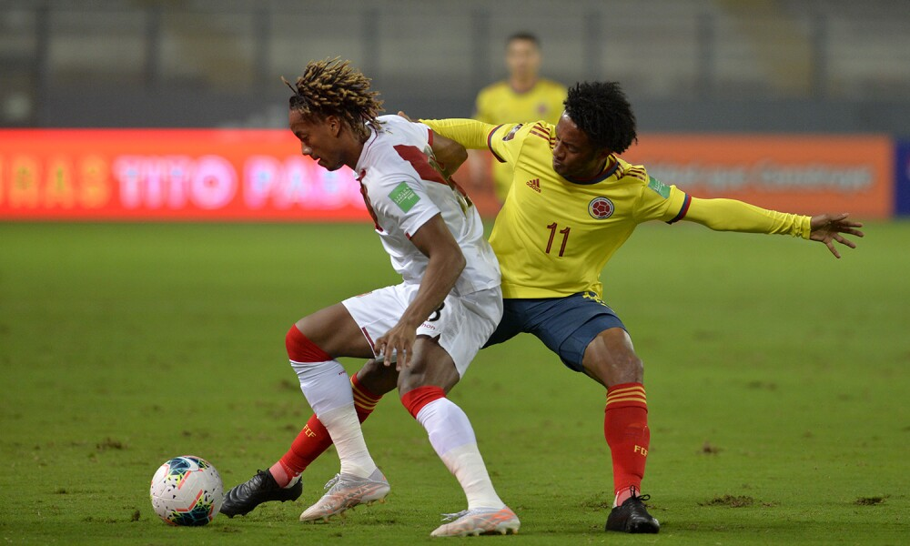 Juan Cuadrado, jugador de la Selección Colombia. FCF.jpg