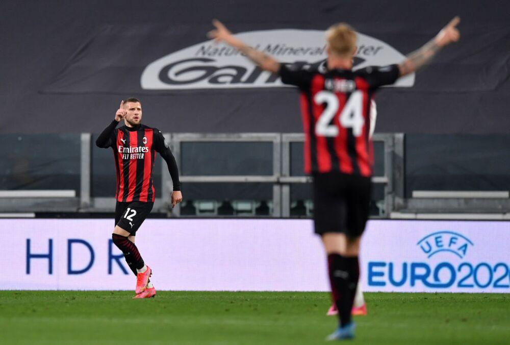 Juventus  v AC Milan Rebic
