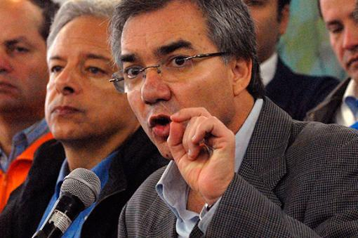 19933_BLU Radio, exministro Diego Palacio / Foto: AFP