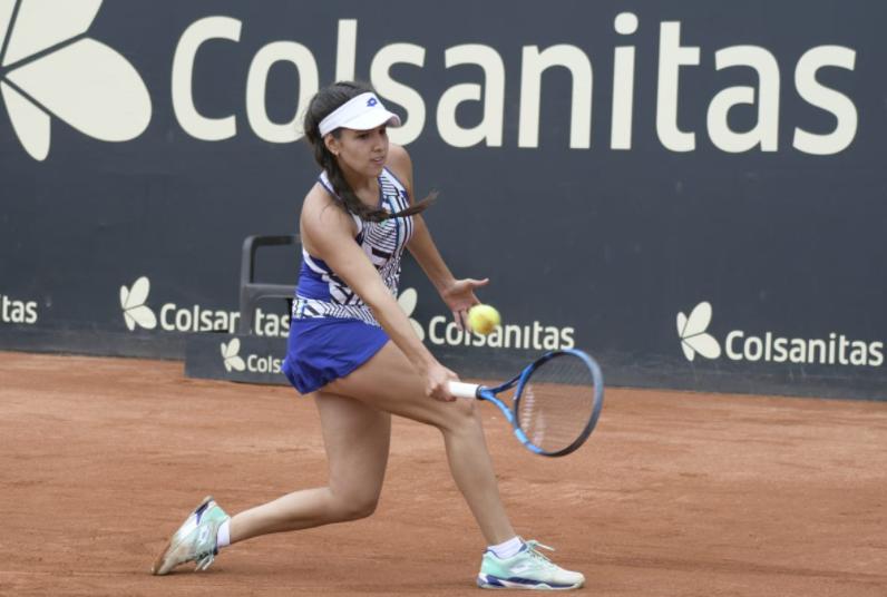 Camila Osorio disputará la décima final WTA para Colombia.