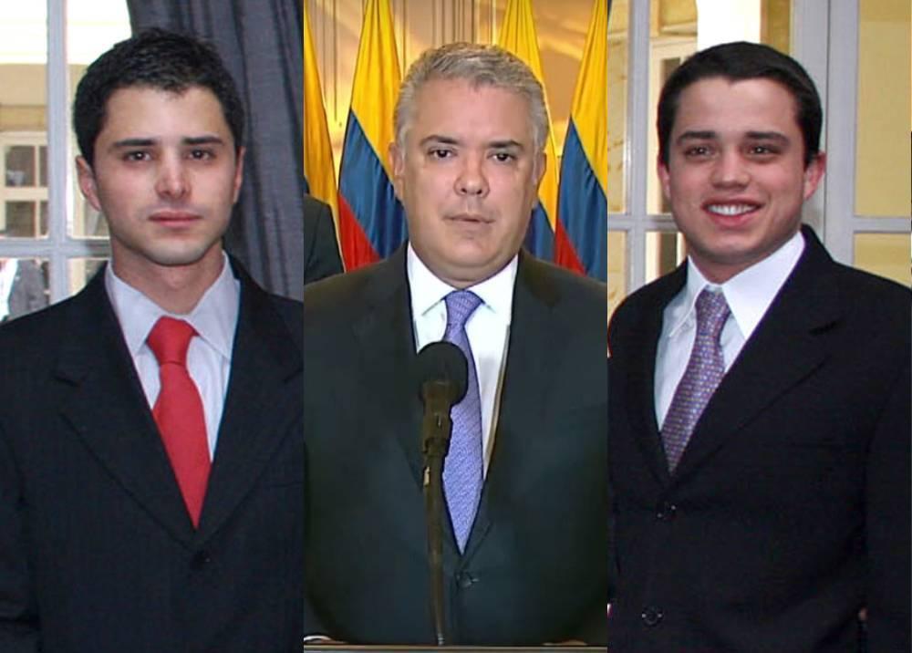 Tomás Uribe, Iván Duque, Jerónimo Uribe