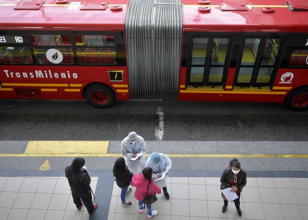 370392_Bogotá. Coronavirus. Foto: AFP