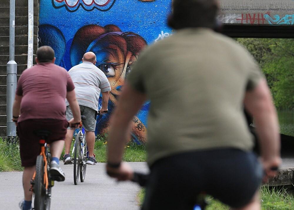 372349_Obesidad - Foto AFP, imagen de referencia