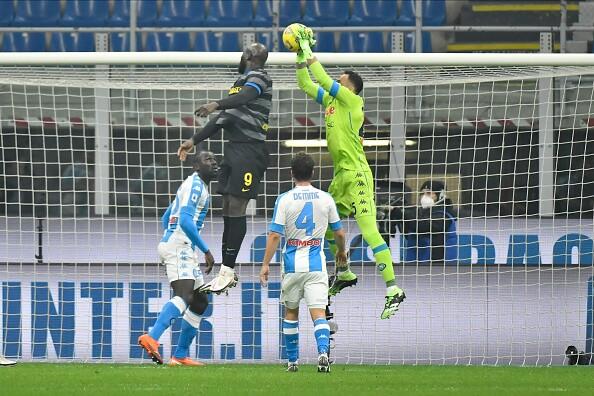 David Ospina, Nápoles vs Inter