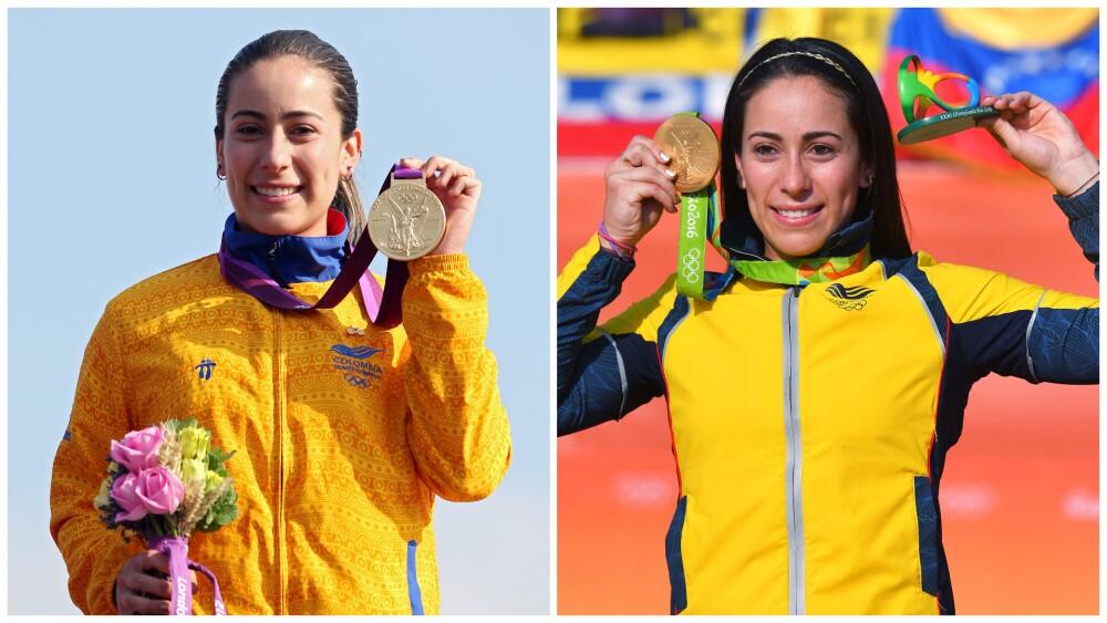 Mariana Pajón, en los Juegos Olímpicos