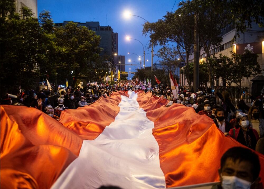 Marchas en Perú Foto AFP.jpg