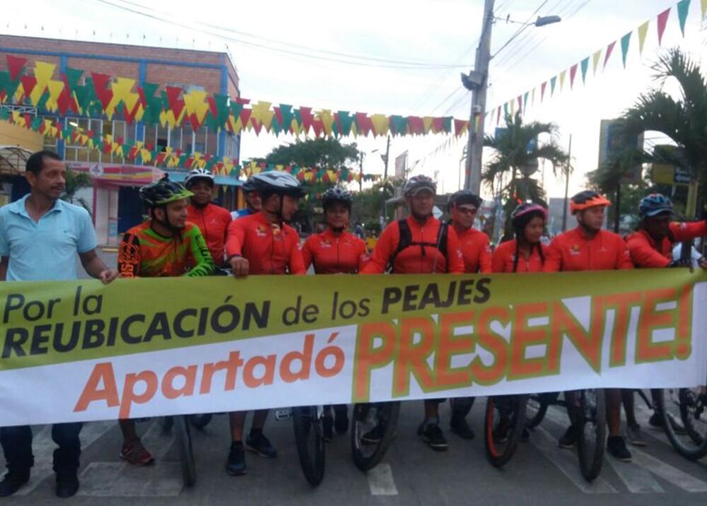 298111_Blu Radio. Protesta en Urabá / Foto: Cortesía