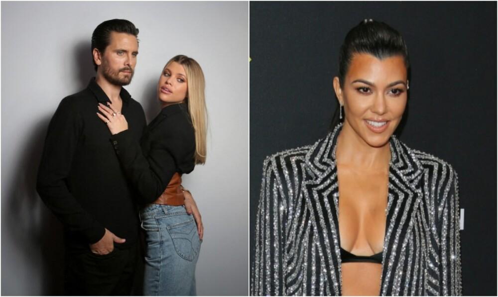 Scott Disick, Sofía Richie y  Kourtney Kardashian .jpg