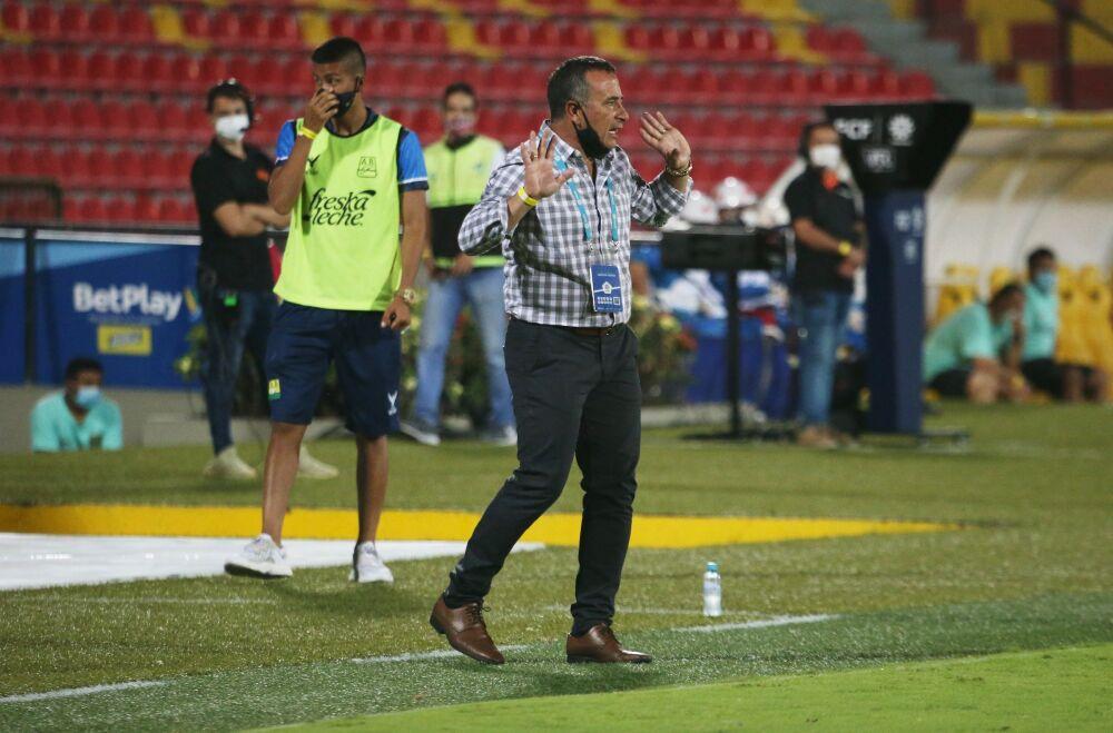 Guillermo Sanguinetti, técnico uruguayo. Dimayor.jpeg