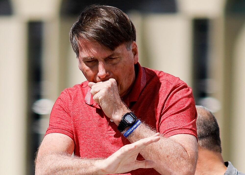 370181_Bolsonaro tiene coronavirus // Foto: AFP
