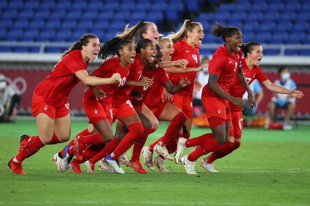 selección femenina de Canadá