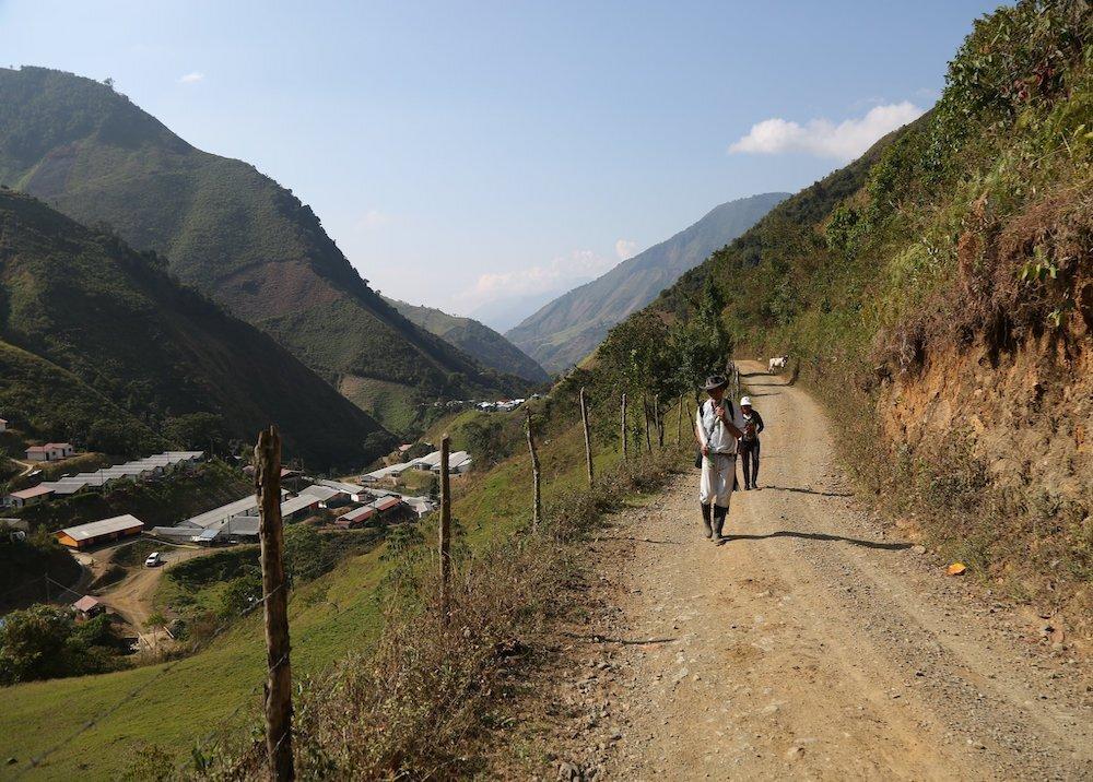 366601_Carretera en Ituango / Foto: Partido Farc