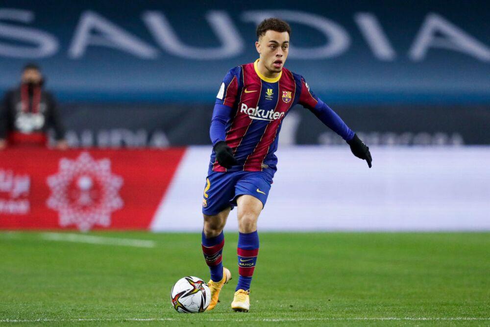 Sergino Dest, jugador del Barcelona