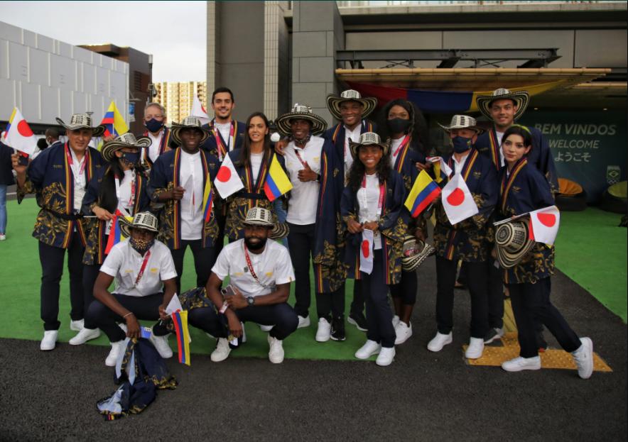 Colombia en la ceremonia de inauguración de los Juegos Olímpicos