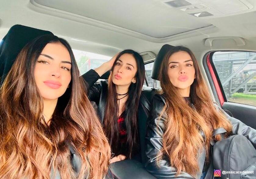 Con divertido video, Jessica Cediel y sus hermanas responden si pelean