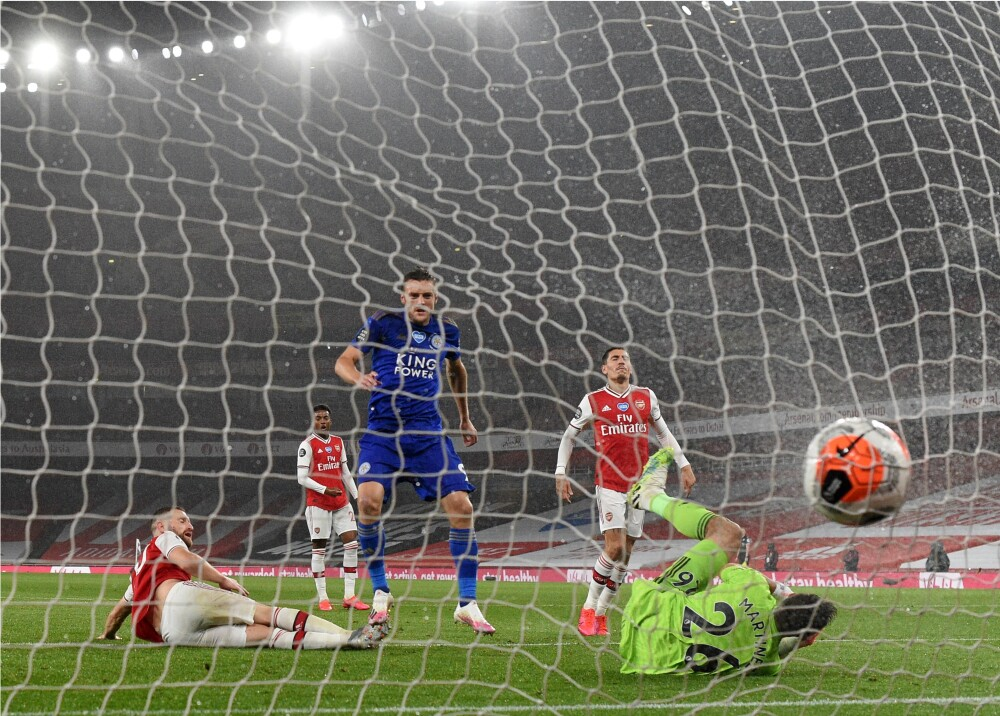 370258_Leicester_Arsenal // Foto: AFP