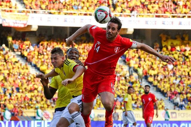 Claudio Pizarro sobre el partido de Perú contra la Selección Colombia