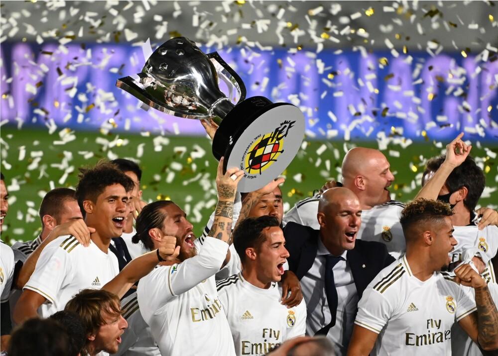 371327_Real Madrid campeón de la Liga // Foto: AFP