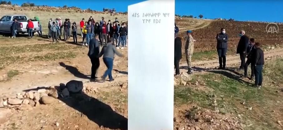 Monolito en Turquía