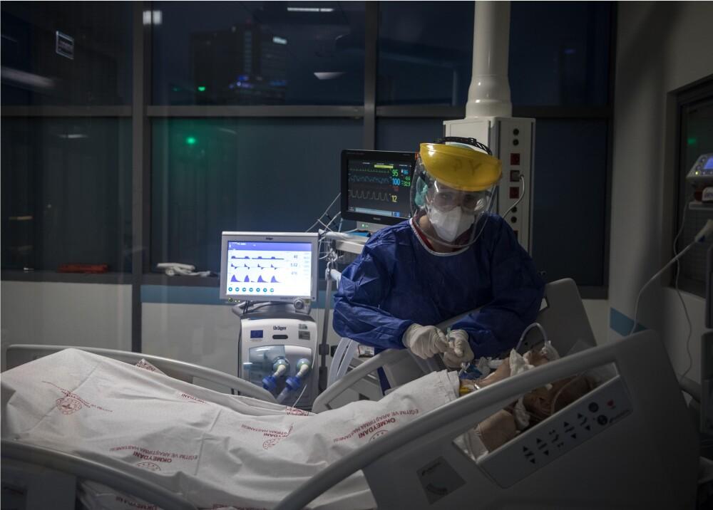 368958_Paciente_coronavirus // Foto: Referencia AFP