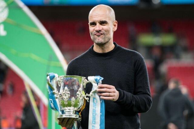 333504_Pep Guardiola, técnico del Manchester City.