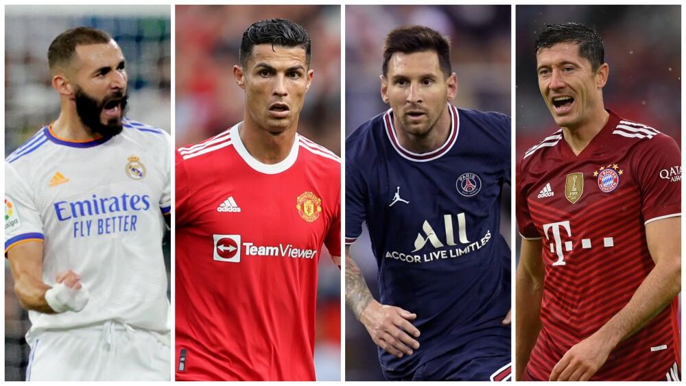 Máximos goleadores en la historia de la Uefa Champions League