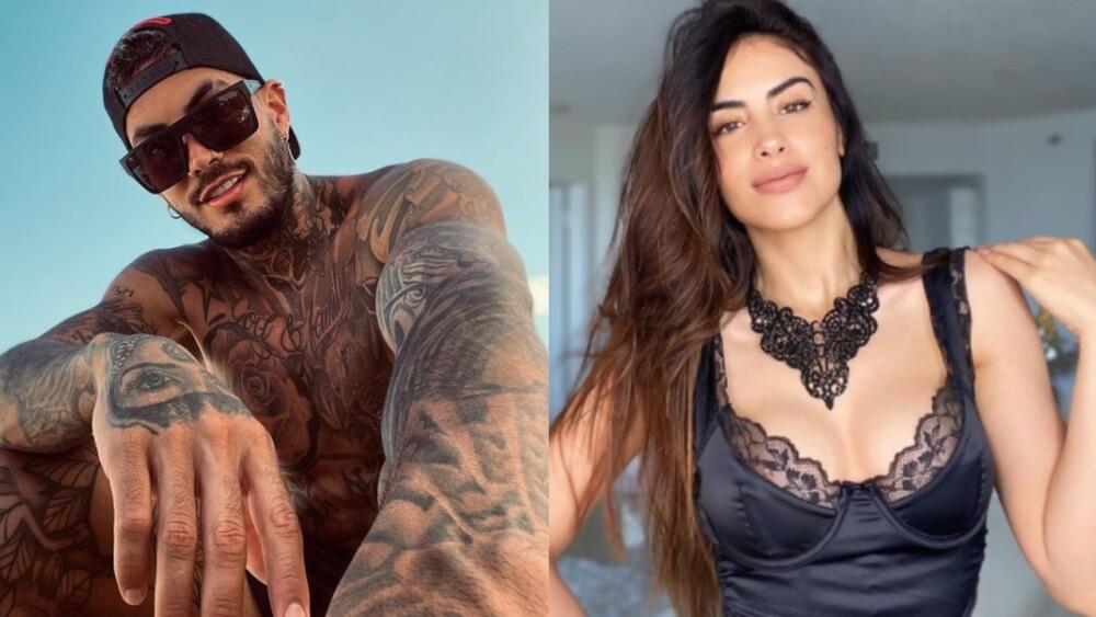 Mateo Carvajal y Jessica Cediel