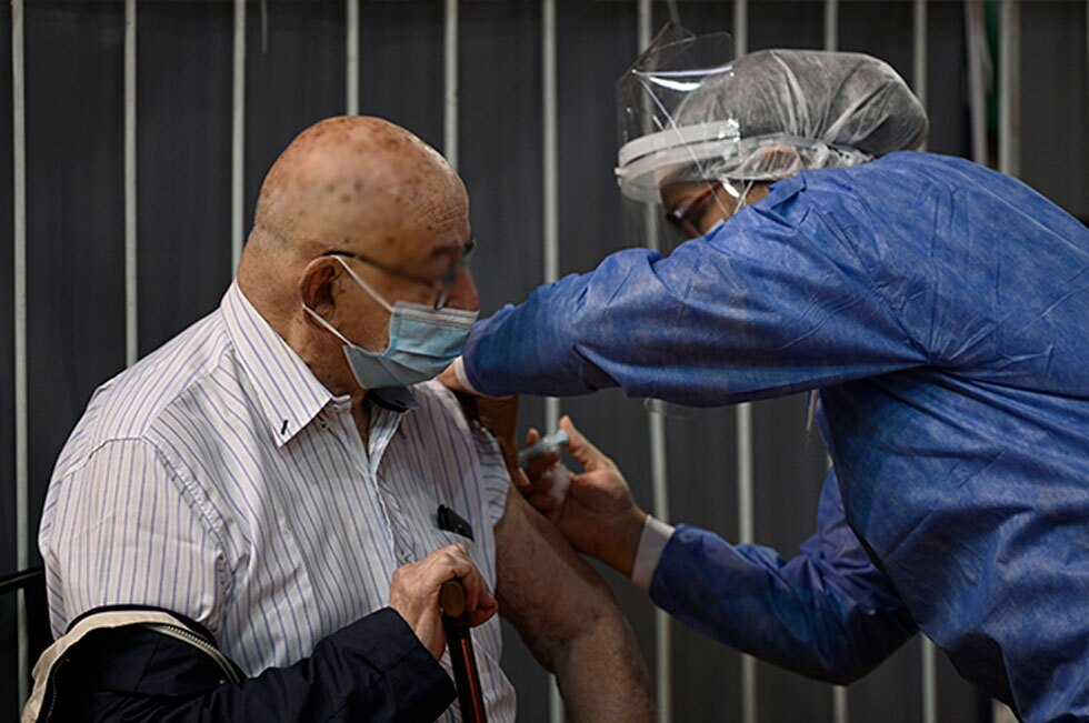 Vacunación con Sputnik V en Argentina