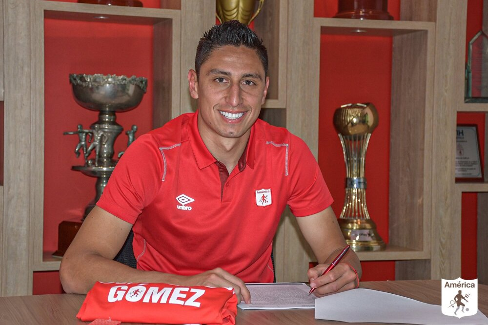 Mauricio Gómez, nuevo jugador de América de Cali. América de Cali oficial.jpg
