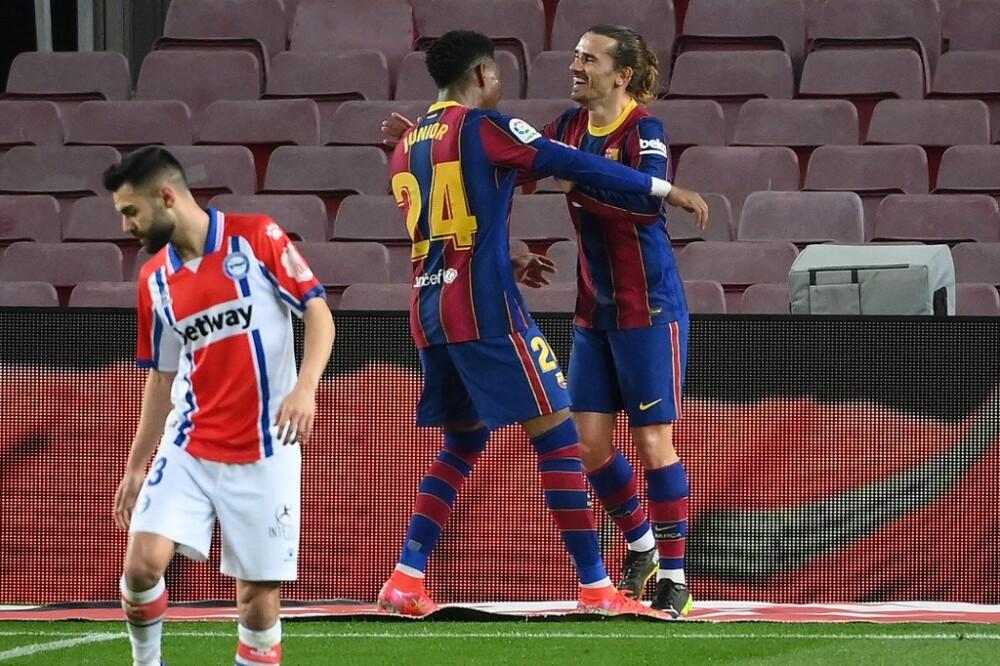 Gol Junior Firpo, Barcelona
