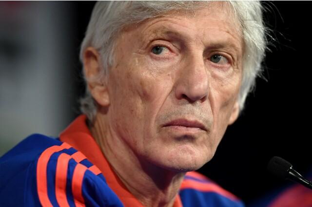 José Néstor Pékerman, exte´cnico de la Selección Colombia