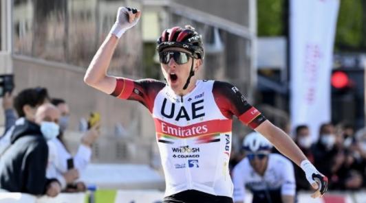 Tadej Pogacar es el actual campeón del Tour de Francia.