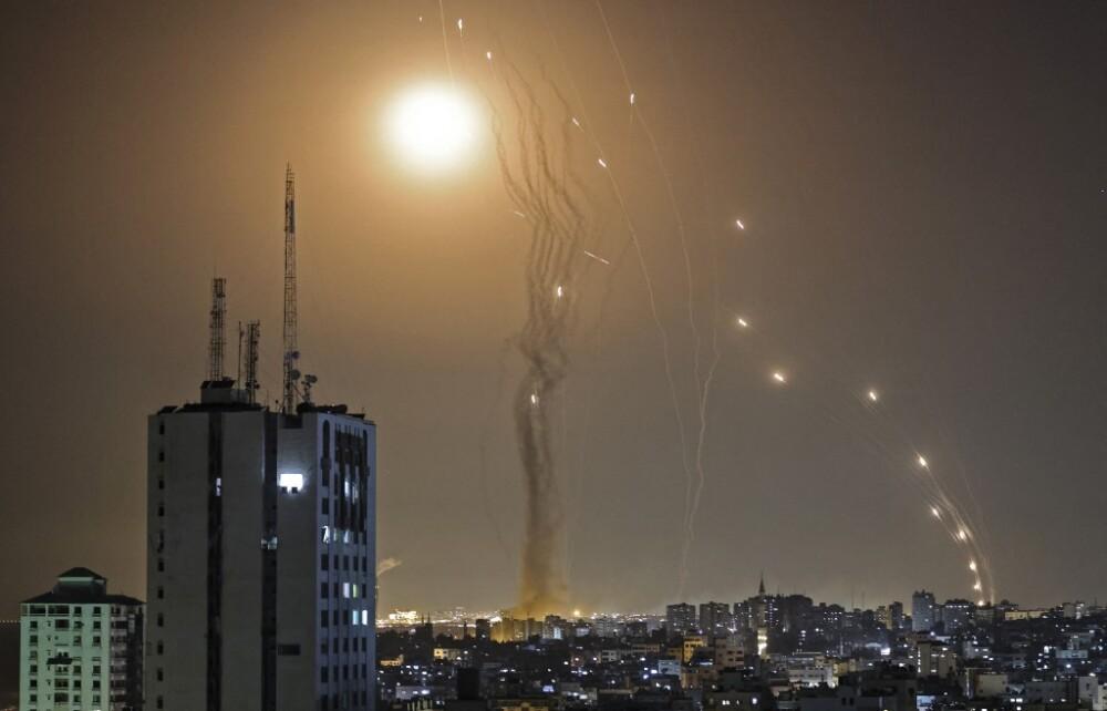 'Cúpula de' hierro de Israel contra misiles palestinos
