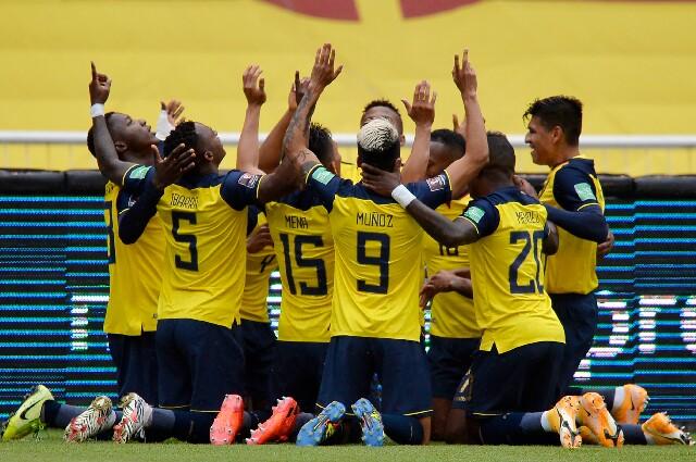 Selección de Ecuador para enfrentar a Perú